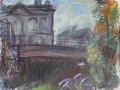 canal-at-limehouse-with-buddlia